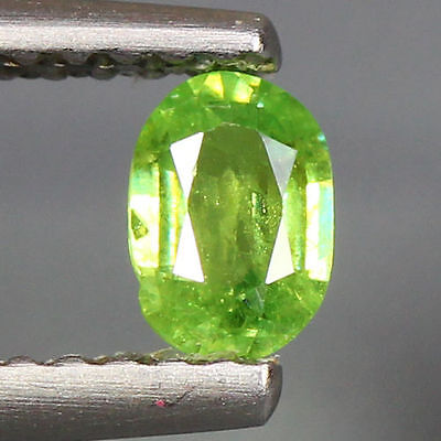 0.37 Cts_Wow Amazing Hot Sale Oval Cut_100 % Natural Russian Demantoid Garnet
