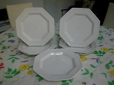 Johnson Brothers Heritage White Salad Plates X 6