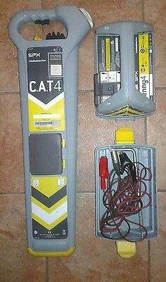 Radiodetection CAT 4 Cable Locator and Genny set.