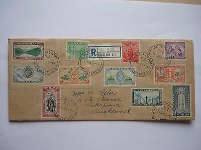 New Zealand stamps on cover