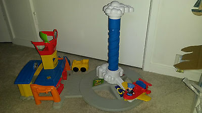 Fisher-Price Little People Spinnin' Sounds Airport   PORT MELBOURNE PICK UP