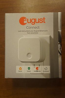 August Connect Wi-Fi Bluetooth - Remotely lock and unlock your August Smart Lock
