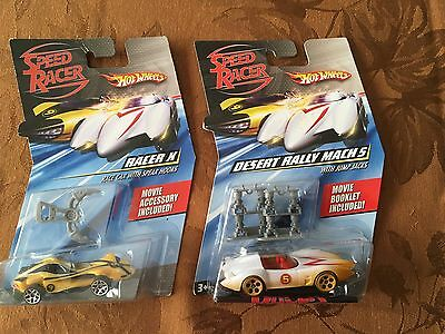 Speed Racer Mach 5 and Racer X Lot