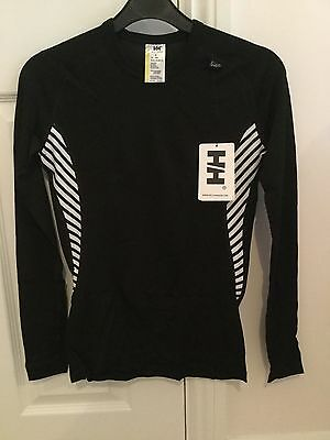 New! Women's Helly Hansen Dry Baselayer Size Small / 10 - Black