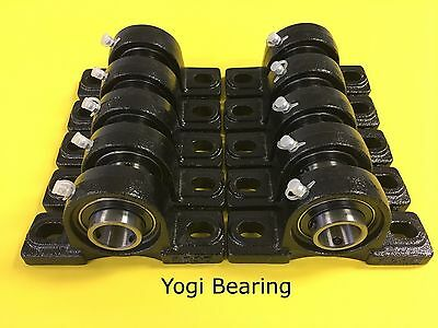 "UCP205-16 High Quality 1"" inch Pillow Block Bearing (10pcs) Solid Base"