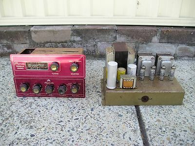 RARE Early 1960's Playmaster '101' 6GW8 triode/pentode 10W stereo Valve TUBE amp