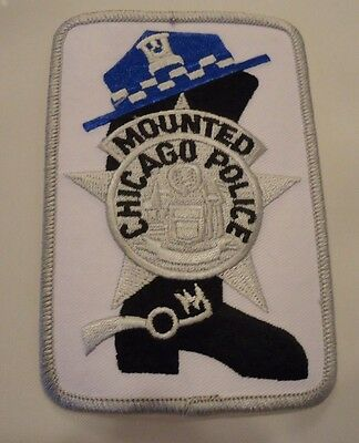 "Chicago Police Shoulder Patch"" Mounted Police"""