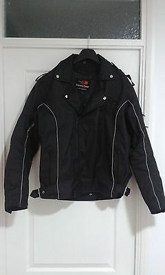 Textile motorcycle jacket 44inch chest