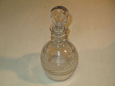 Elegant Vintage Tiffany & Co. Crystal Decanter W/Stopper~Seagrams 1776 Whiskey