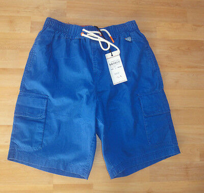 Mens swim shorts SoulCal cargo swimshorts size S NEW with tags blue orange