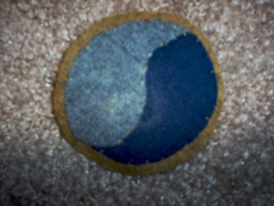 """WWI US Army 29th Infantry Division """" Blue & Gray"""" Patch  AEF"""