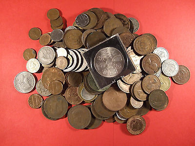 Bulk collection of mixed coins (Approx 0.7kg) (Id-200)