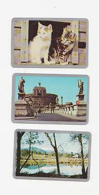 5 Single Newsagent Swap Cards With Silver Boarder