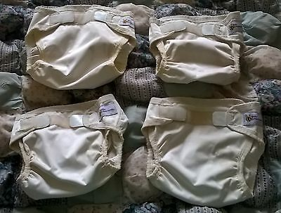 Baby beehind nappy covers, bulk lot of 4, size Medium