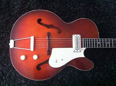 Vintage Harmony Rocket H53 Made in USA Electric Guitar & Case