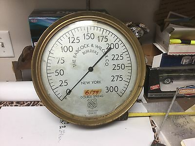 large  steam ship,gadge  Babcock  & Wilcox  co newyork double spring made in usa
