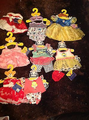 Build a Bear Clothes Bundle. New With Tags