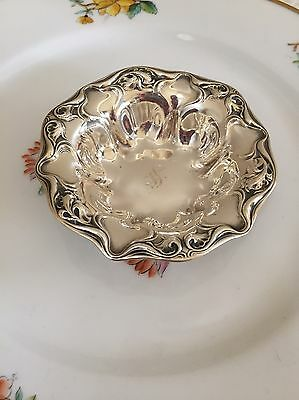 Eaton Wallace Sterling Silver Nut Dish Mono S