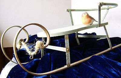 Marjolein Bastin Large Display Sled with Bird - Signed by artist