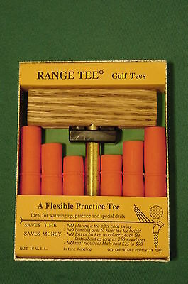 Range Tee Golf tees - stay in place hit after hit (grass)