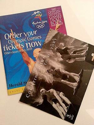 Sydney 2000 Olympic Games   Official Ticket Book & Calendar (Bank of Melbourne)