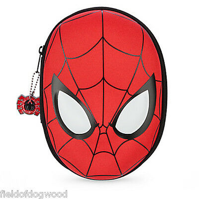 NWT Disney store Spiderman Zip up stationary Kit art case School Supplies