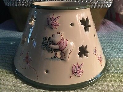 """Disney Winnie the Poo """"Fall Style"""" Candle Shade"""