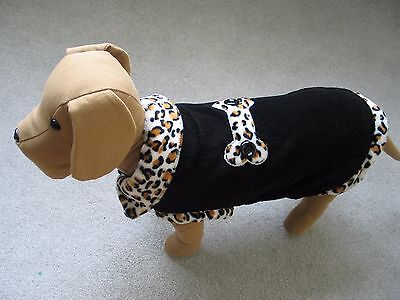 Wholesale lot Dog leopard print coat,fashion dog apparel,clothes,XS,S,M,18pcs
