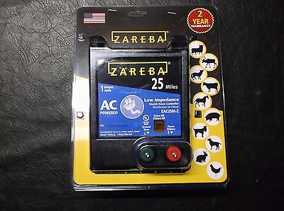 Zareba EAC25M-Z AC-Powered Low-Impedance 25-Mile-Range Charger, New, *FREE SHIP*