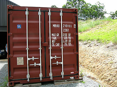 Shipping container 20' new build ex Gold Coast
