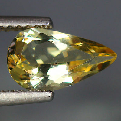1.26 Cts_Wow Unbelivable Brazilian Gemstone_100 % Natural Heliodore Yellow Beryl