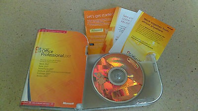 Microsoft Office Professional 2007-Genuine With Product Key