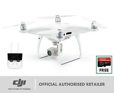"NEW DJI Phantom 4 Pro + Plus Bundle HD Built-In 5.5"" Screen 