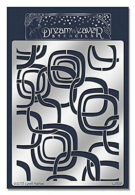 "Stampendous-Fustella in metallo, Dreamweaver Stencil 7,875 x 5 "", Pop Rectangles"
