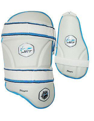 New  Cricket Thigh Guard  & Inner Thigh Guard Set, Mens, Jet Cricket Players