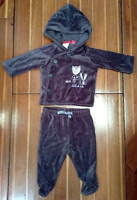 Sprout Baby Unisex 2 Piece Thick Fleecy Tracksuit Size 000