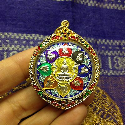 Beautiful Lp SoThorn 12 Zodiacs Thai Buddha Amulet Luck Rich Wealth Protect