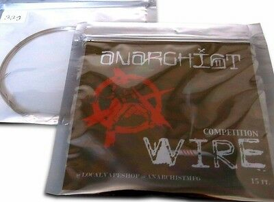 SALE! 21g Anarchist Competition Wire -15ft (Clapton, Staple, Alien, Staggered)