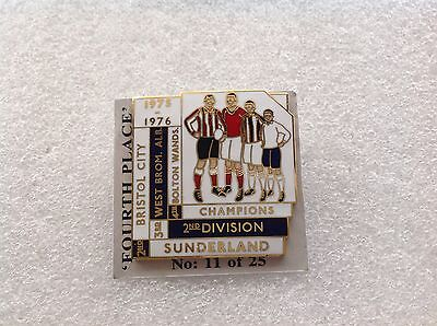 1975/76 Bolton Wanderers Top Four Finishers Badge
