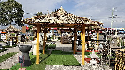 Bali Hut 3.5m x 3.5m roofline  $1800  - other sizes available