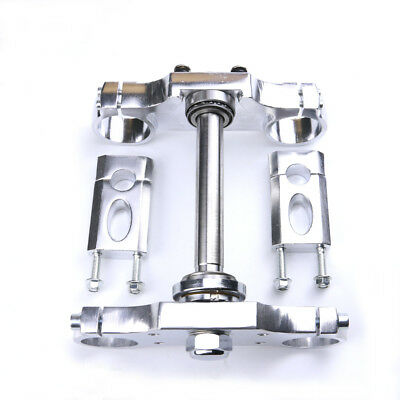 Aluminum Triple Clamp Bar Riser For Front Fork 22mmHandlebar Pit Dirt Bike CRF50