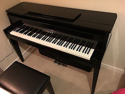 Yamaha Avant Grand N2 Hybrid Piano - Excellent Condition