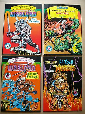 Mike GRELL ,WARLORD 1 a 4 Eo Série Complète Lot Artima Dc Geant 1981/1982 NEUF