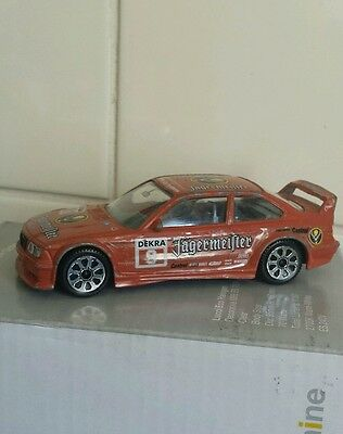 Vintage Burago BMW M3 Jagermeister Model Car 1:43 Scale Italy Good Condition