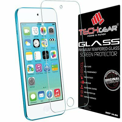 TECHGEAR® Apple iPod Touch 5 & iPod Touch 6 GLASS Edition Genuine Tempered Glass