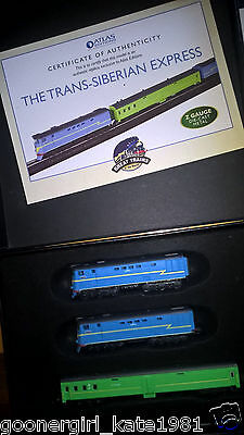 Classic Minitrains The Trans Siberian Express  Z Gauge Die Cast Metal With C.O.A