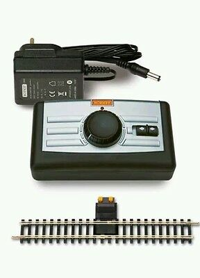 Hornby R8250 Controller, P9000 Transformer & R8206 Analogue Power Track