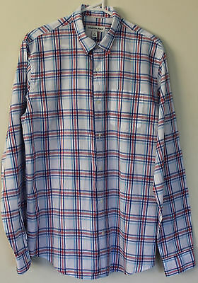 Country Road Mens Long Sleeve Shirt Size S EC AS NEW
