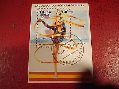 Central America; 1992 Olympics - Minisheet - Unmounted Used - Ex Condition