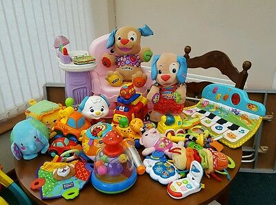 Toy bundle vtech fisher price baby toddler